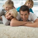 Fluffy Soft Clean Carpets Bring Families Together